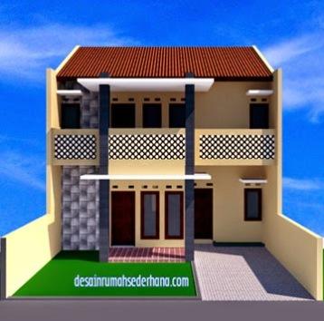 Rumah Minimalis 2 Lantai Luas 100 M  desain rumah minimalis 2 lantai luas tanah 100m2 rumah