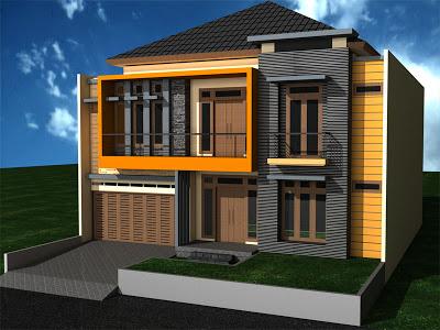 Contoh Warna  Cat  Exterior  Rumah  Minimalis Rumah